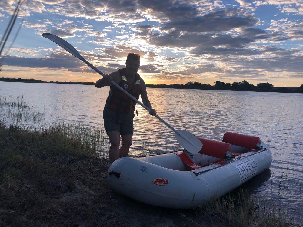 Zambezi Sands canoeing