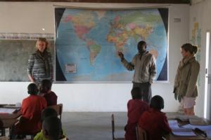 Visiting Ngamo School with Imvelo Safari Lodges