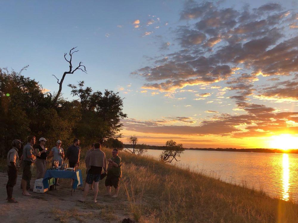 Zambezi sundowners